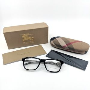 "🆕BURBERRY ""B 2214-F"" Men's Black Glasses"